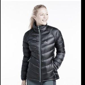 BLACK❤️850 fill down puffer coat jacket parka S/M